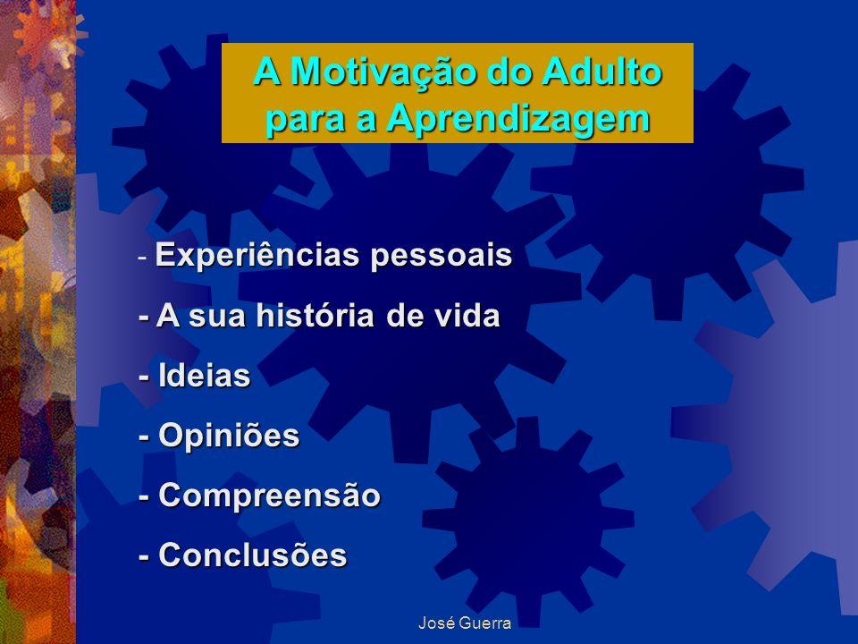 A Motivação do Adulto para a Aprendizagem