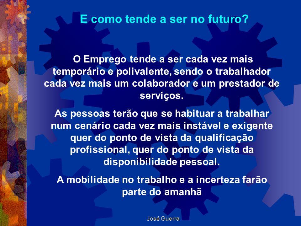 E como tende a ser no futuro