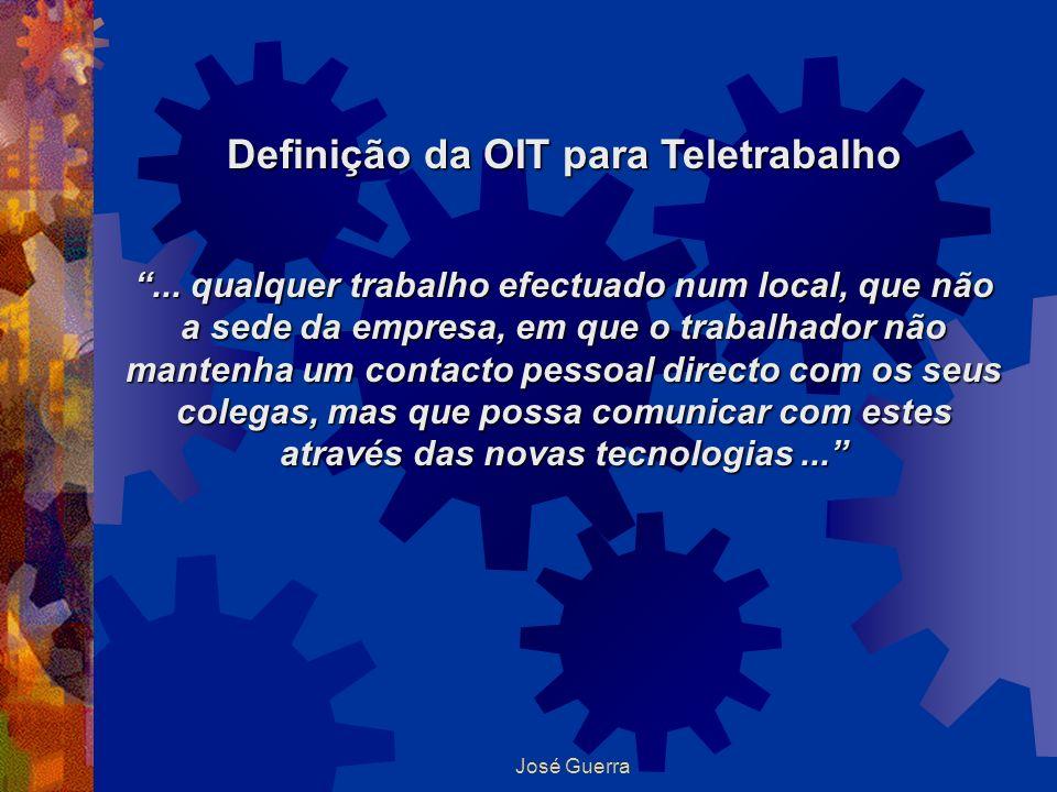 Definição da OIT para Teletrabalho