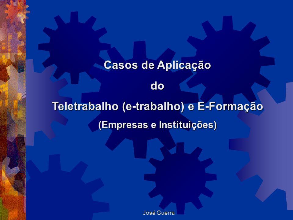 Teletrabalho (e-trabalho) e E-Formação (Empresas e Instituições)