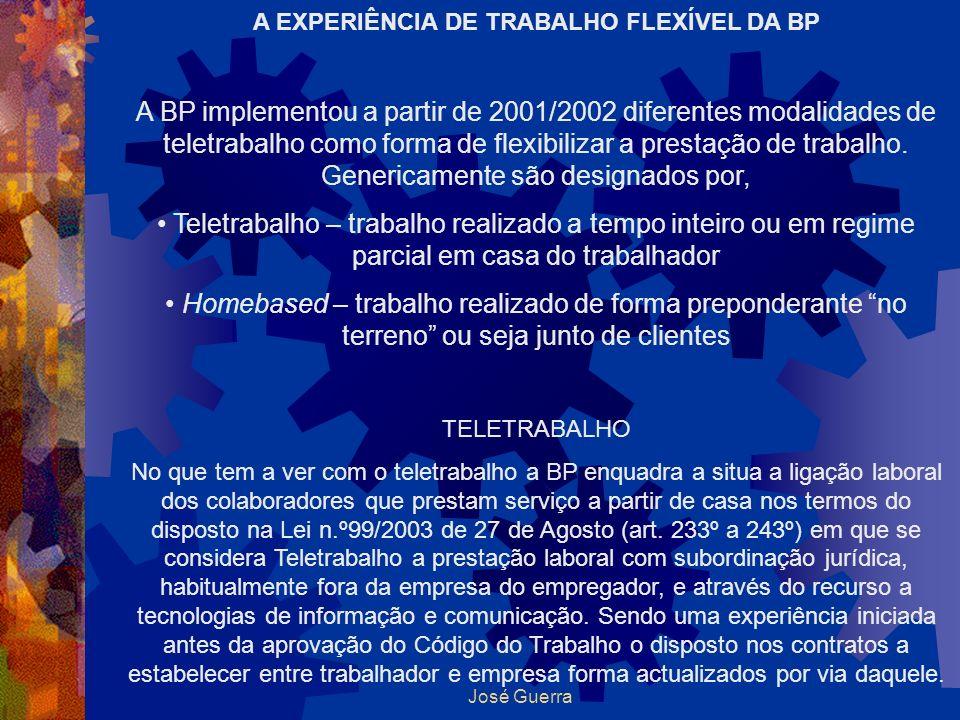A EXPERIÊNCIA DE TRABALHO FLEXÍVEL DA BP