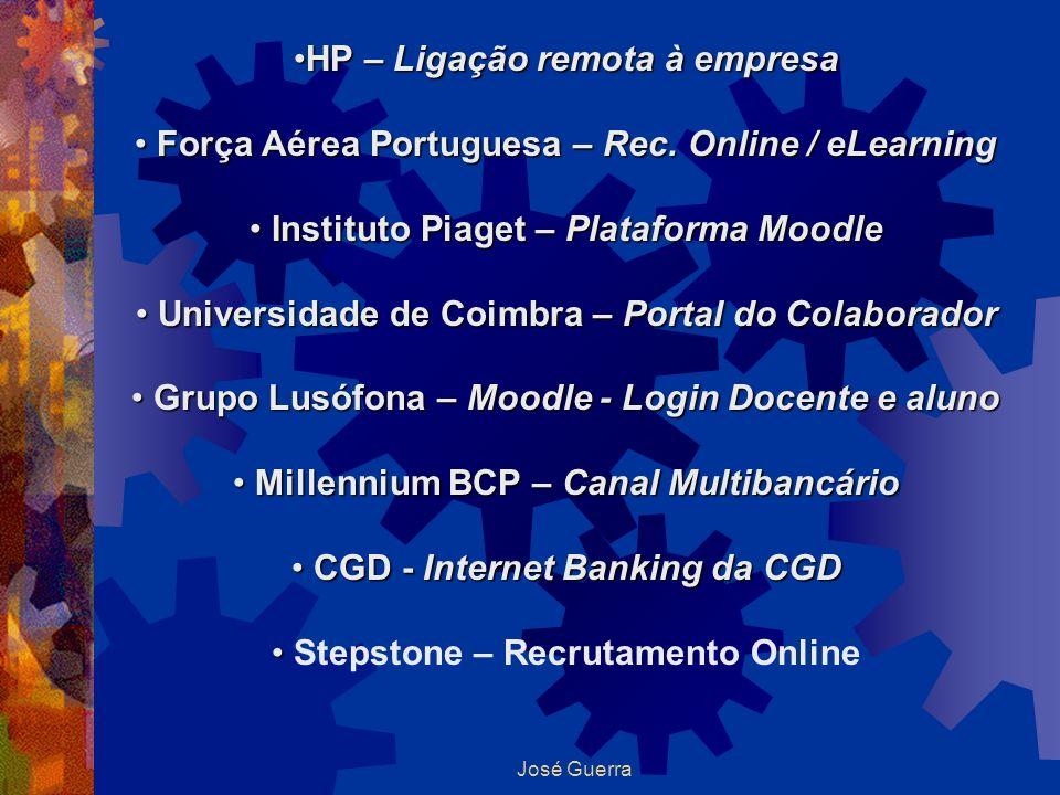 HP – Ligação remota à empresa