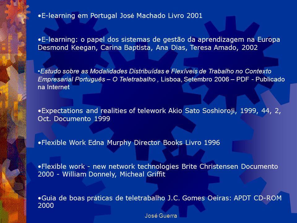 E-learning em Portugal José Machado Livro 2001