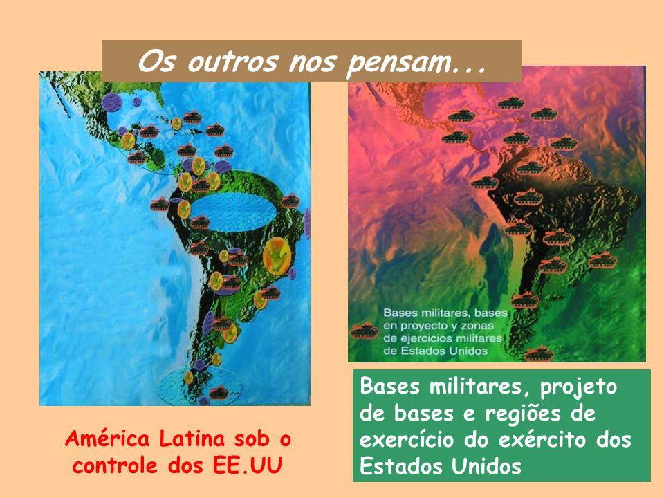 América Latina sob o controle dos EE.UU