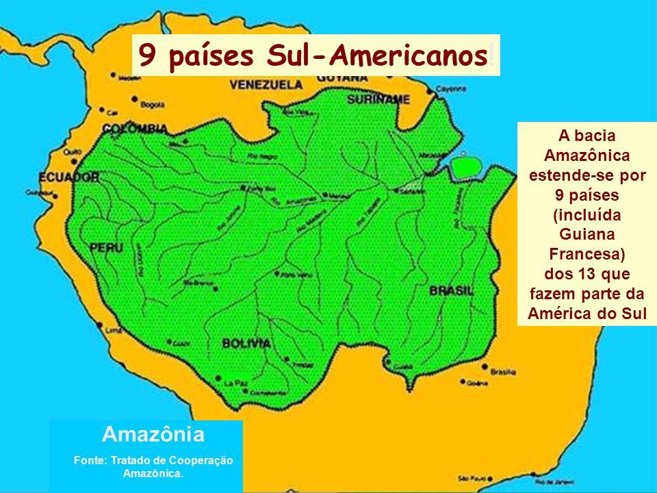 9 países Sul-Americanos!