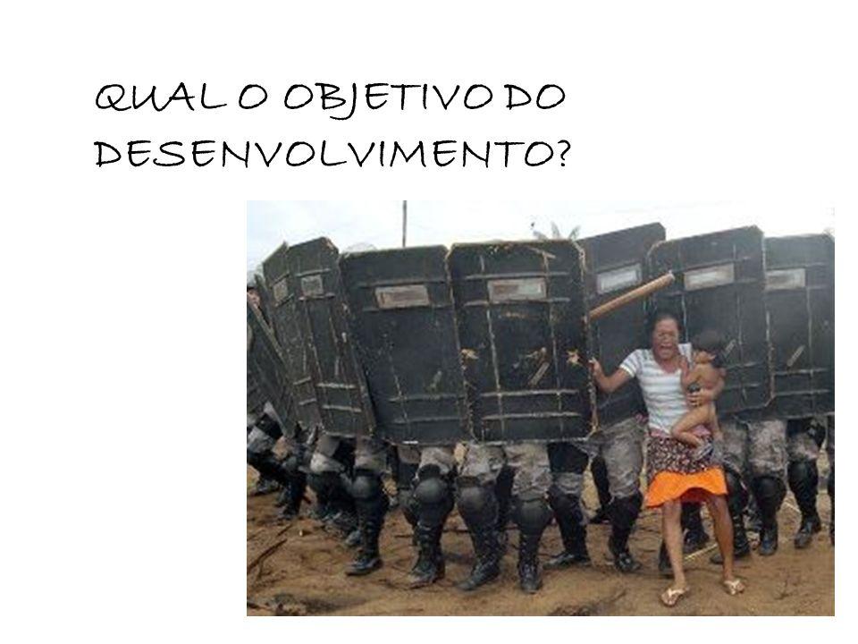 QUAL O OBJETIVO DO DESENVOLVIMENTO