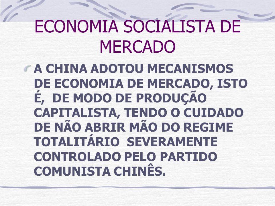 ECONOMIA SOCIALISTA DE MERCADO