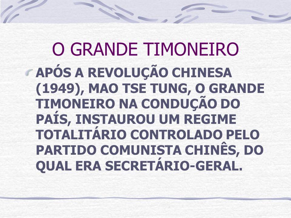 O GRANDE TIMONEIRO
