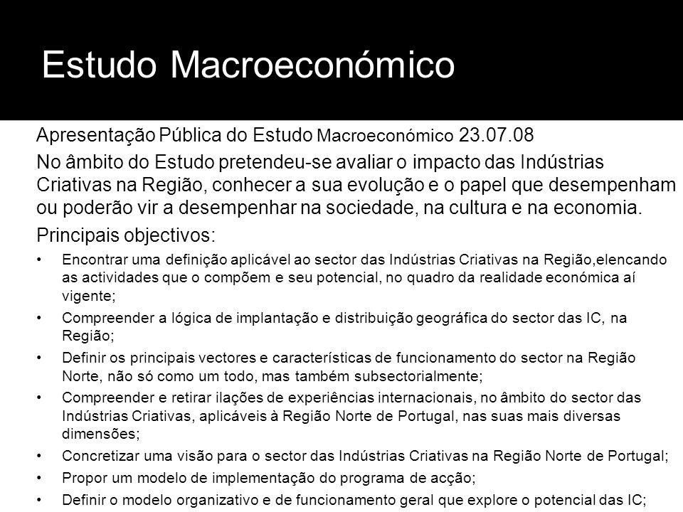 Estudo Macroeconómico