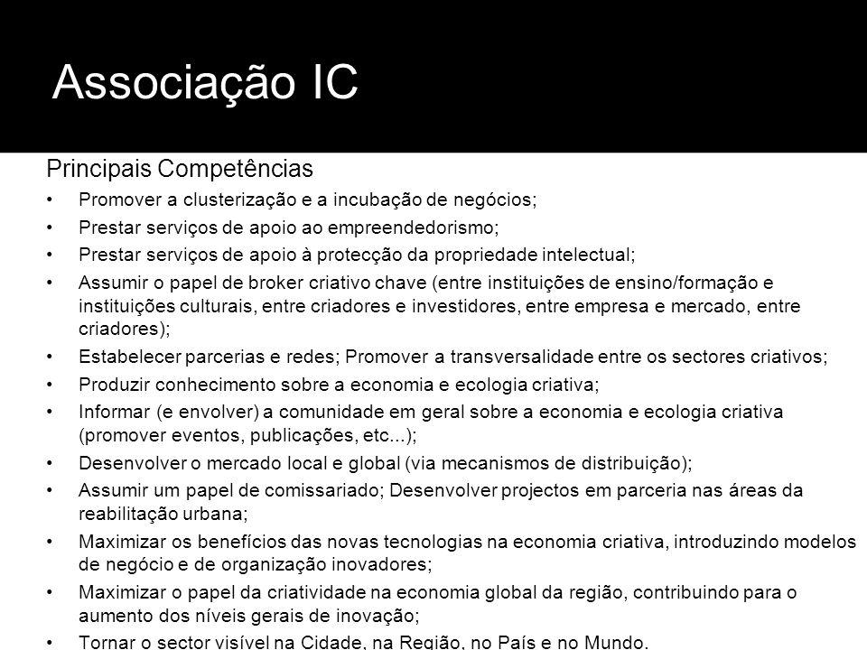 Associação IC Principais Competências