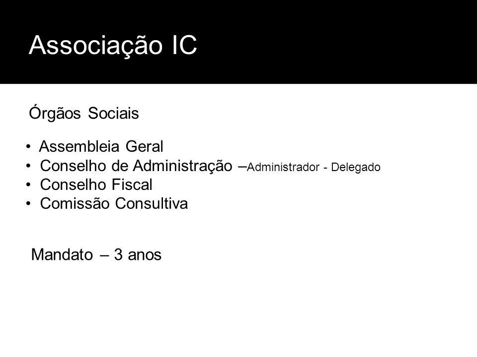 Associação IC Órgãos Sociais Mandato – 3 anos Assembleia Geral