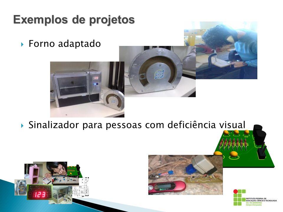 Exemplos de projetos Forno adaptado