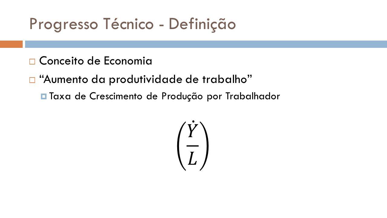 Progresso Técnico - Definição