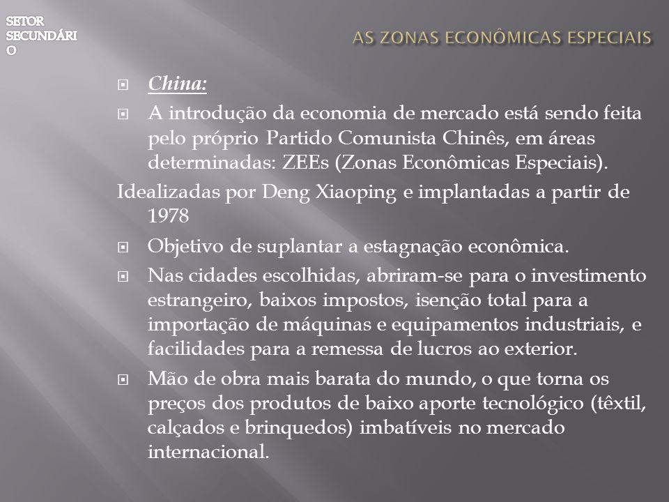AS ZONAS ECONÔMICAS ESPECIAIS