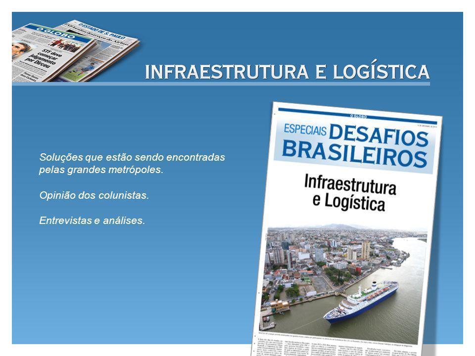 Soluções que estão sendo encontradas pelas grandes metrópoles.