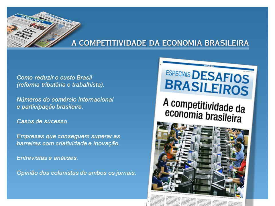 Como reduzir o custo Brasil