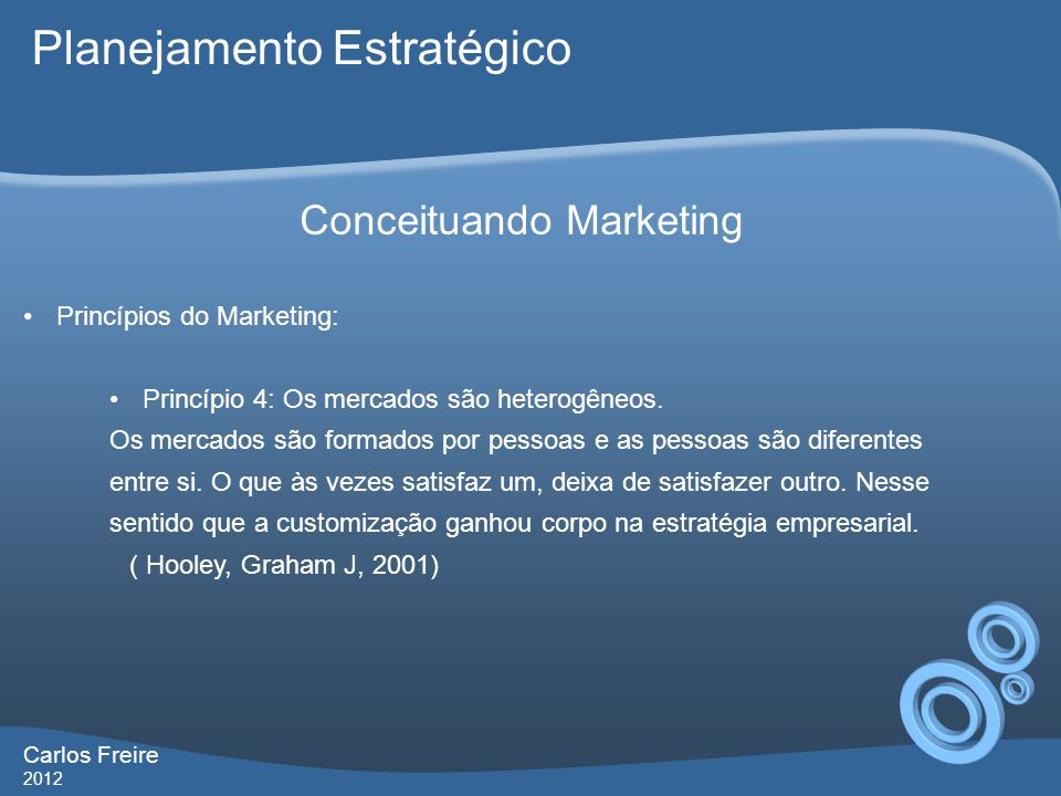 Conceituando Marketing