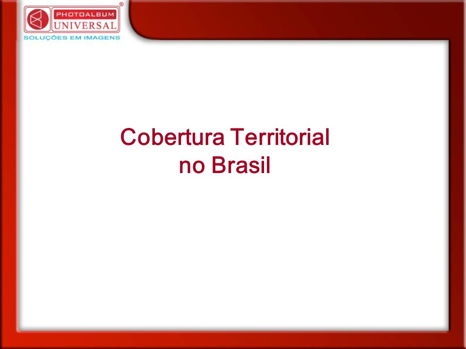 Cobertura Territorial