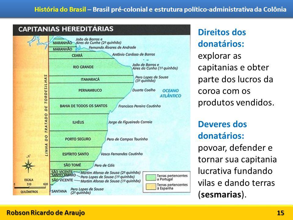 Direitos dos donatários: