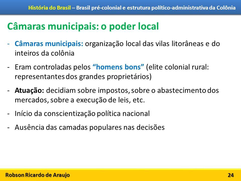 Câmaras municipais: o poder local