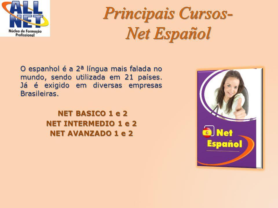 Principais Cursos- Net Español