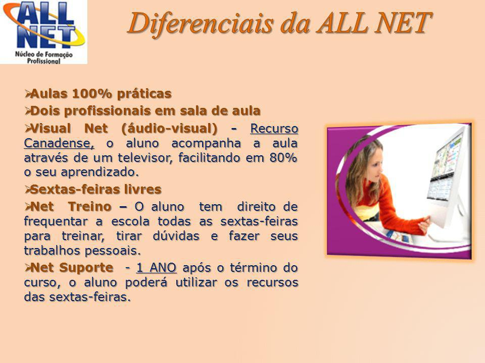 Diferenciais da ALL NET