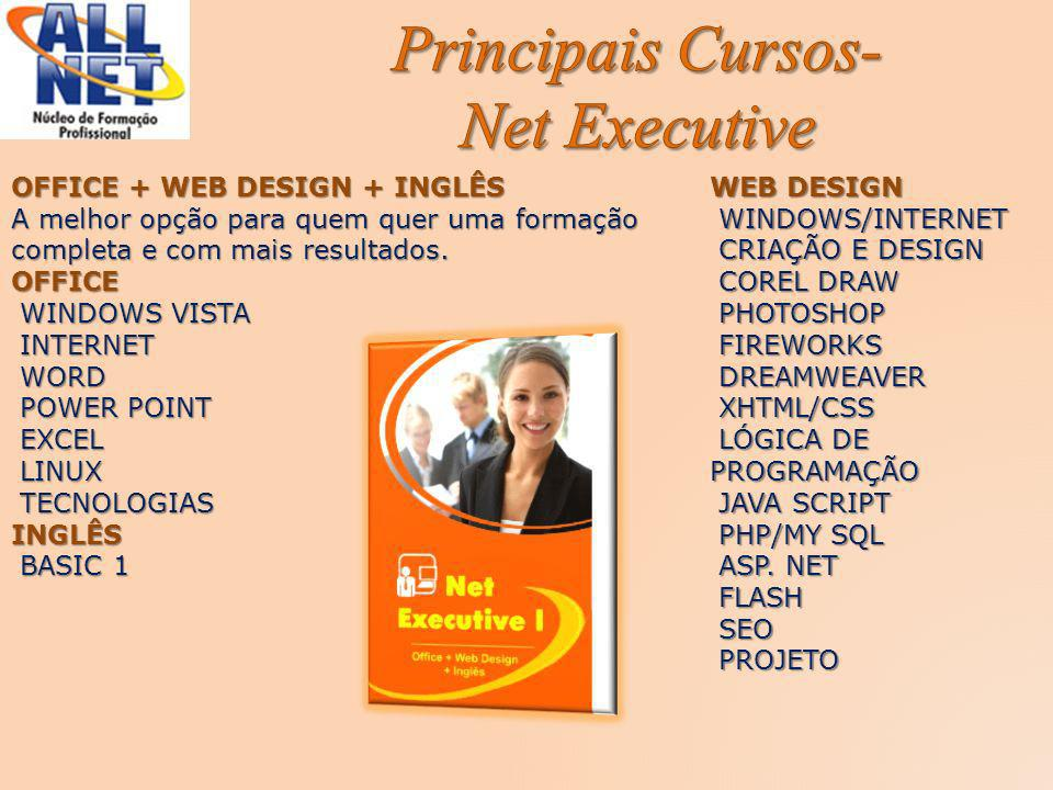 Principais Cursos- Net Executive