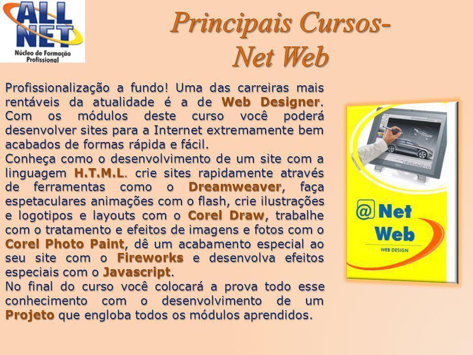 Principais Cursos- Net Web