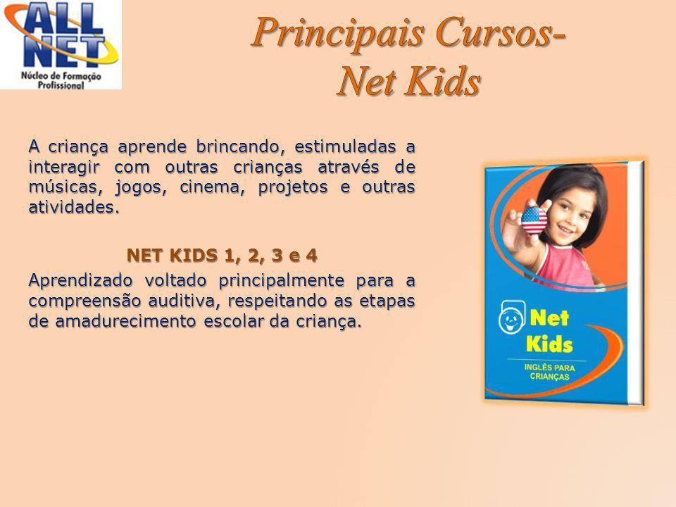 Principais Cursos- Net Kids