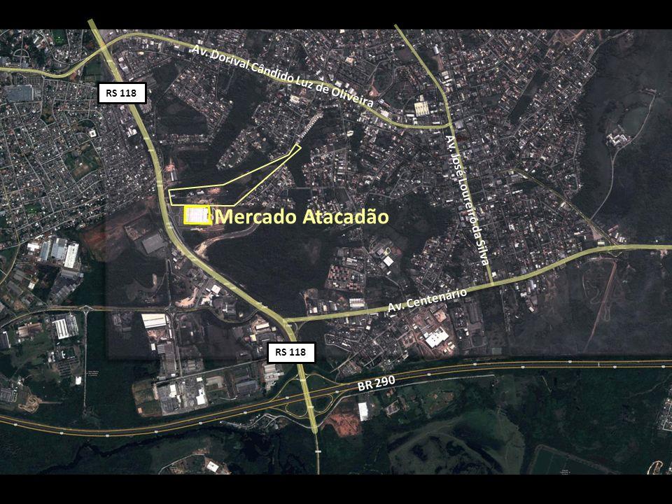 Mercado Atacadão Av. Dorival Cândido Luz de Oliveira