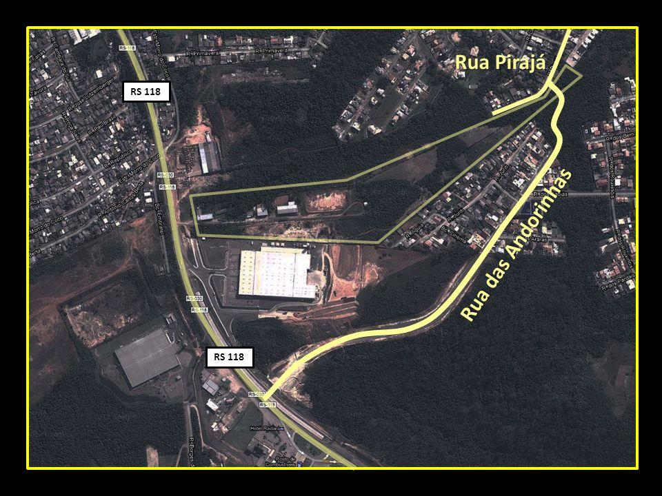 Rua Pirajá Rua das Andorinhas