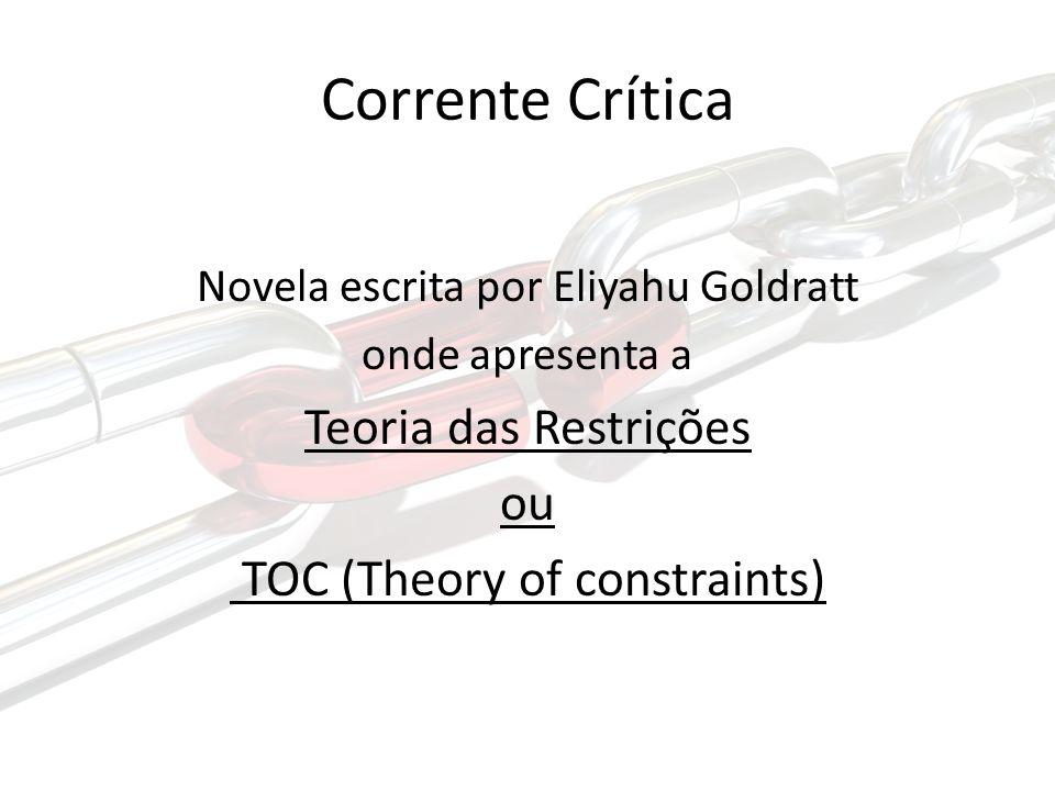 Corrente Crítica Teoria das Restrições ou TOC (Theory of constraints)
