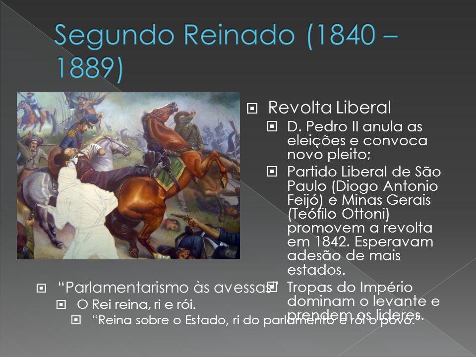Segundo Reinado (1840 – 1889) Revolta Liberal