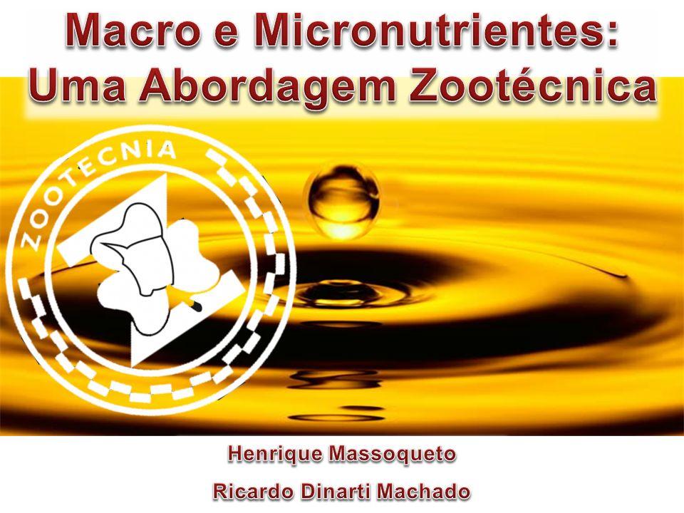 Macro e Micronutrientes: Uma Abordagem Zootécnica