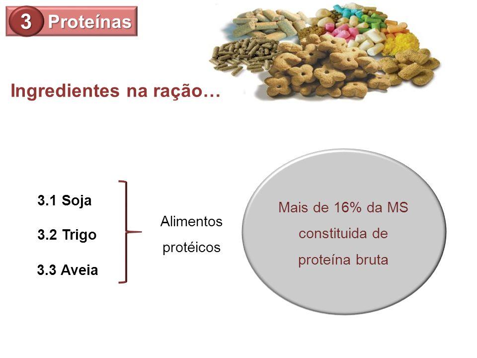 Mais de 16% da MS constituida de proteína bruta