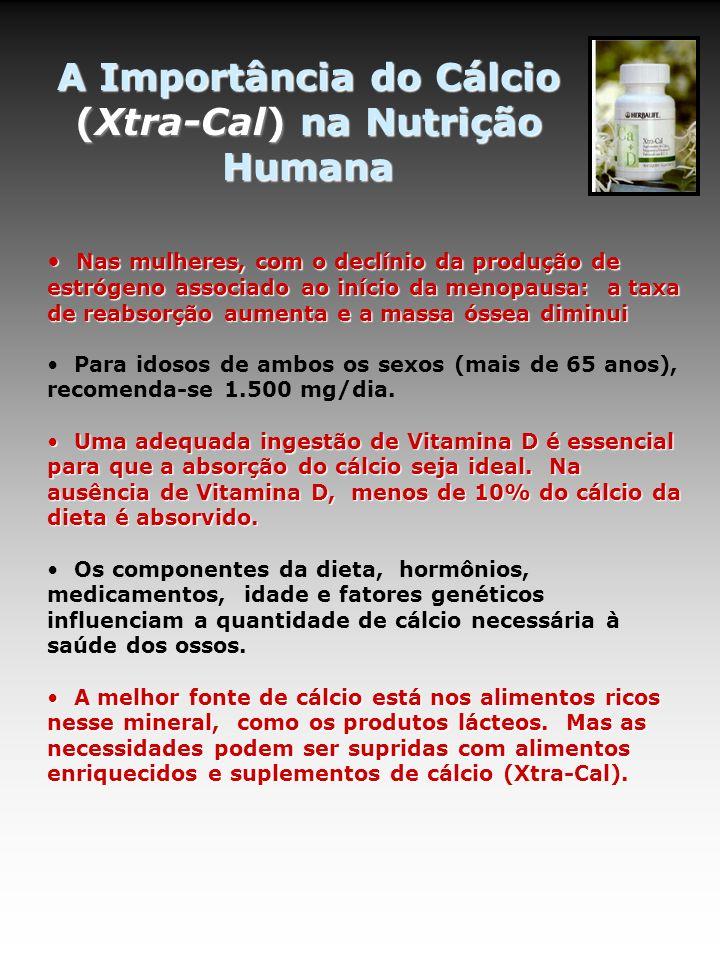 A Importância do Cálcio (Xtra-Cal) na Nutrição Humana