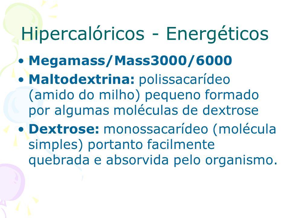 Hipercalóricos - Energéticos