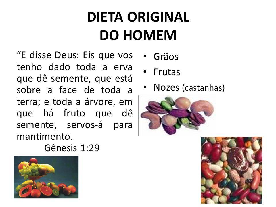 DIETA ORIGINAL DO HOMEM