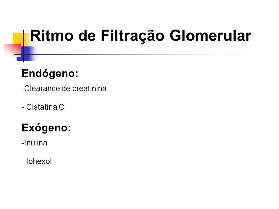 Ritmo de Filtração Glomerular