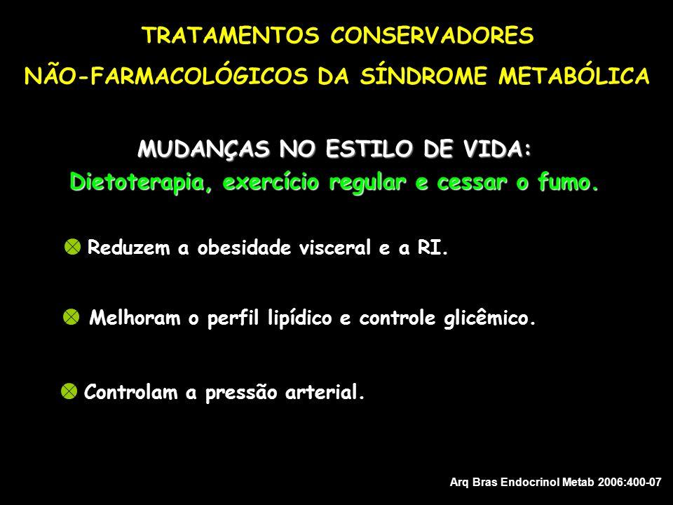 TRATAMENTOS CONSERVADORES NÃO-FARMACOLÓGICOS DA SÍNDROME METABÓLICA