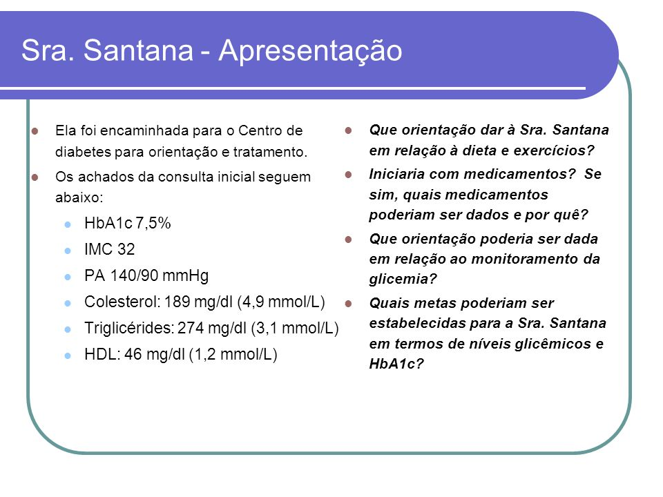Sra. Santana - Apresentação