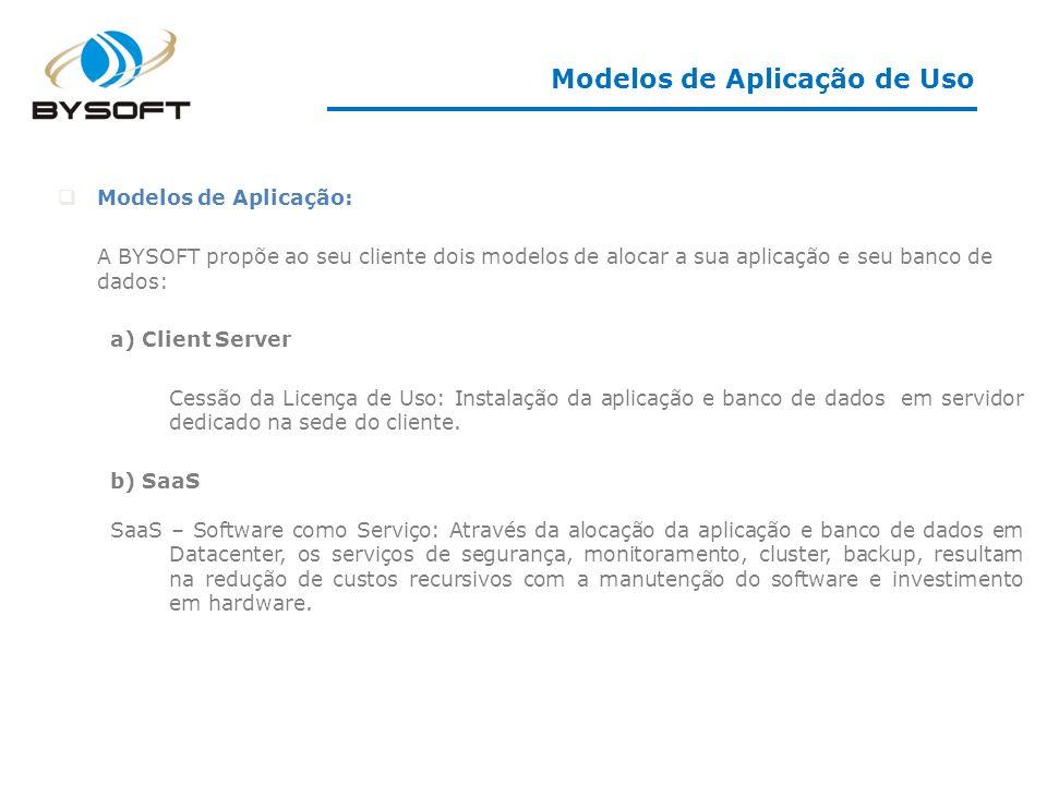 Modelos de Aplicação de Uso