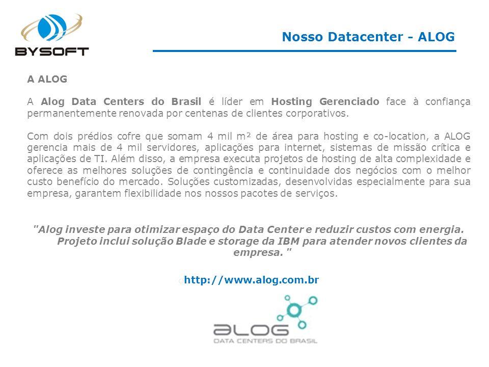 Nosso Datacenter - ALOG