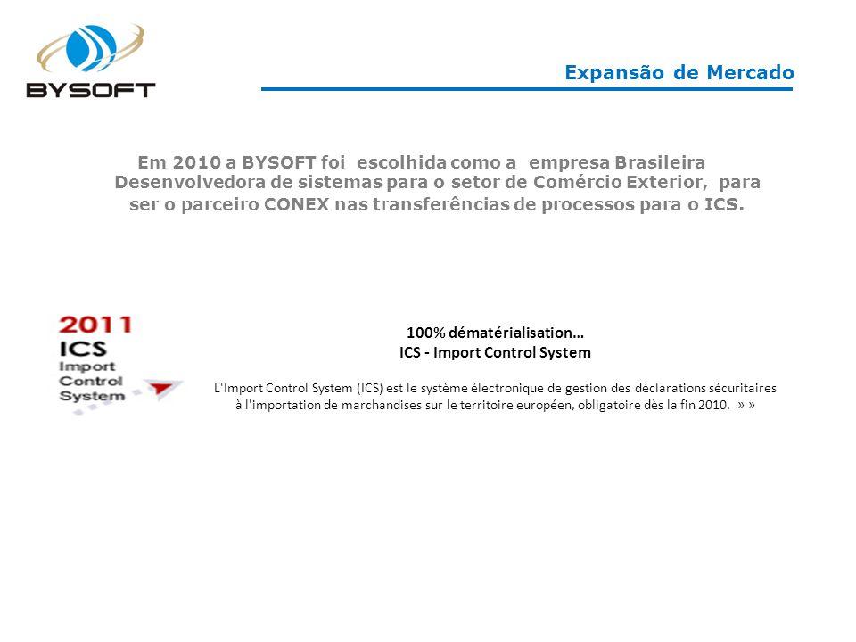 100% dématérialisation… ICS - Import Control System