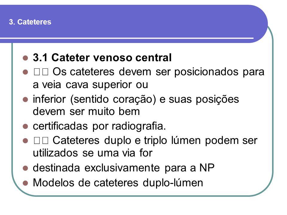 3.1 Cateter venoso central