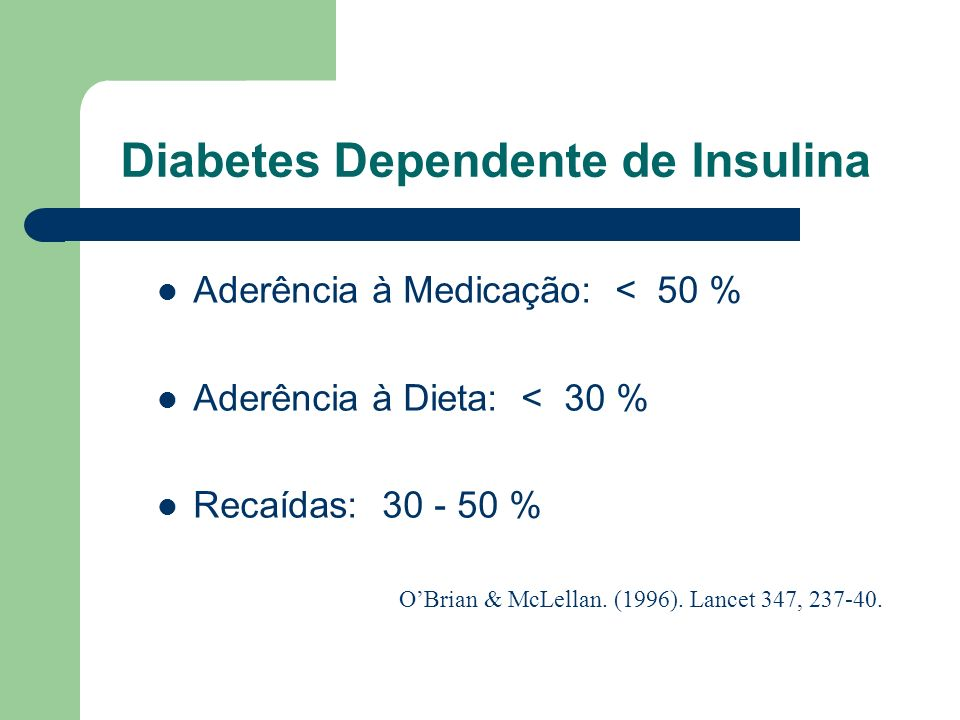 Diabetes Dependente de Insulina