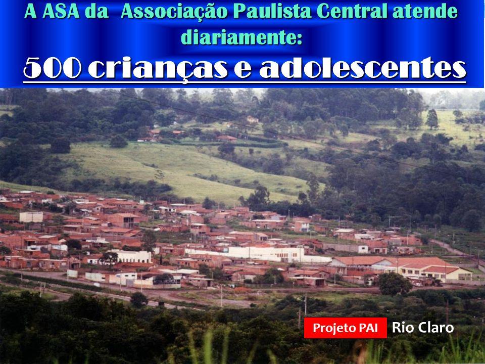 A ASA da Associação Paulista Central atende diariamente: