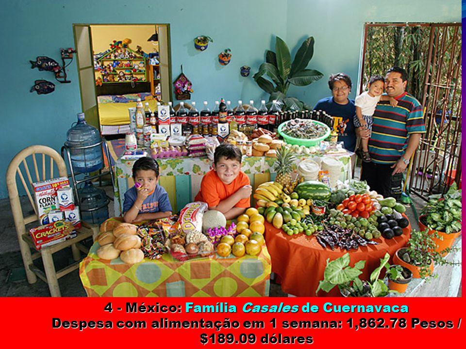 4 - México: Família Casales de Cuernavaca