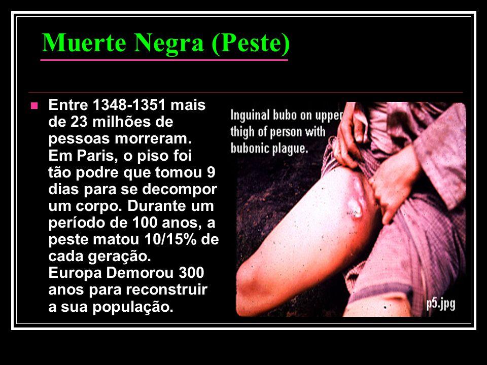 Muerte Negra (Peste)