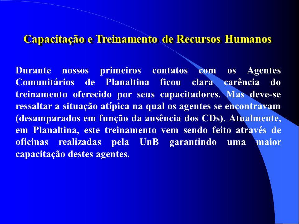 Capacitação e Treinamento de Recursos Humanos